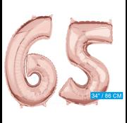 onjuiste code Helium cijfer ballonnen 65
