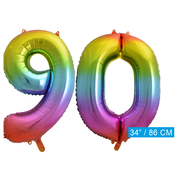 onjuiste code Cijfer ballon 90