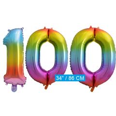 Cijfer ballon 100