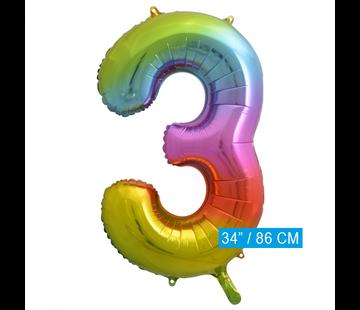 Cijfer Ballon 3