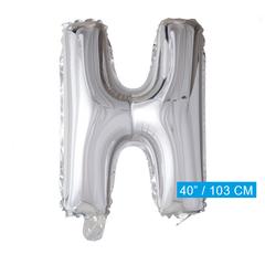 Folieballon letter H