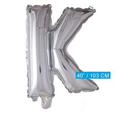 Folie ballon letter K