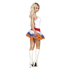Koningsdag petticoat rok