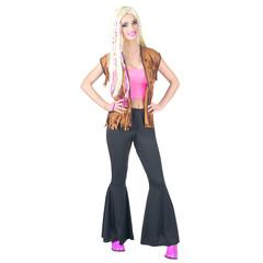 Dames disco broek zwart