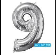 Cijfer ballon nummer 9