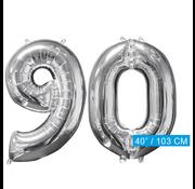 Helium ballonnen cijfers 90