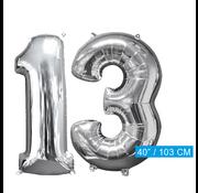 Helium ballonnen cijfers 13