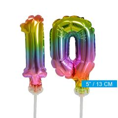 ballonnen cijfers 10