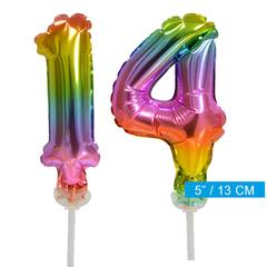 ballonnen cijfers 14