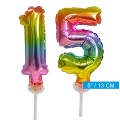 ballonnen cijfers 15