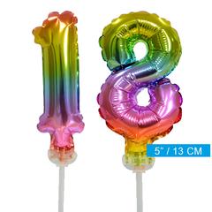 ballonnen cijfers 18