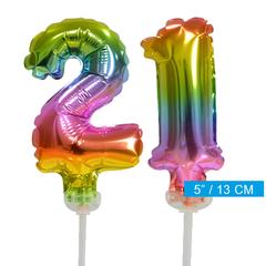 ballonnen cijfers 21
