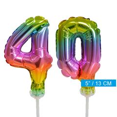 ballonnen cijfers 40