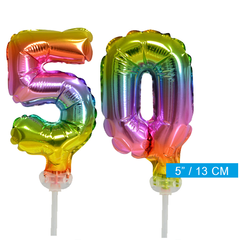 ballonnen cijfers 50