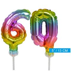 ballonnen cijfers 60