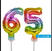 onjuiste code ballonnen cijfers 65