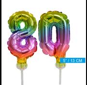 ballonnen cijfers 80