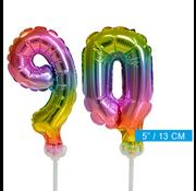 onjuiste code ballonnen cijfers 90
