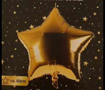 Ballon ster goud