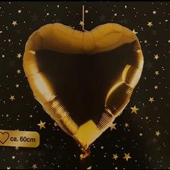 Ballon hart goud