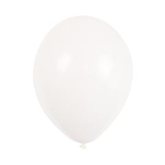 """Ballonnen 9"""" Wit"""