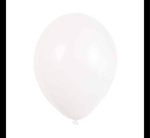 """100 st Ballonnen 9"""" inch Wit"""