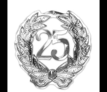 Huldebord 25 jaar