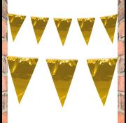 Goudkleurige vlaggenlijn