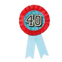 Button rozet 40 jaar