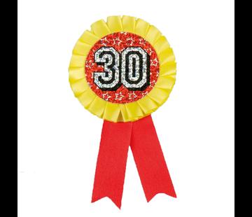 Button rozet 30 jaar