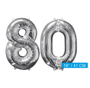 Ballon cijfer 80