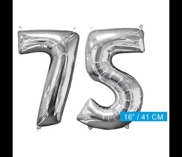 Ballon cijfer 75