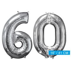Ballon cijfer 60