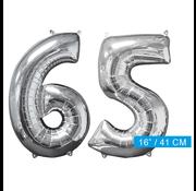 Ballon cijfer 65