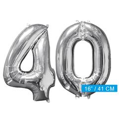 Ballon cijfer 40