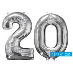 Ballon cijfer 20