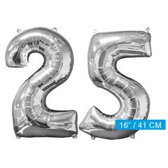 Ballon cijfer 25