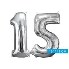 Ballon cijfer 15