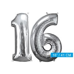 Ballon cijfer 16