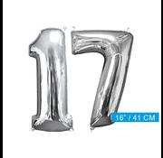 Ballon cijfer 17