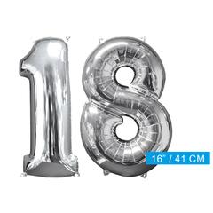 Ballon cijfer 18
