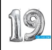 Ballon cijfer 19