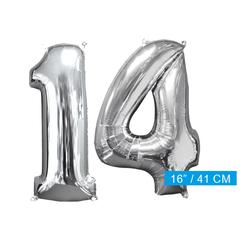Ballon cijfer 14