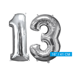 Ballon cijfer 13