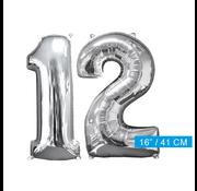 Ballon cijfer 12