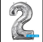 Ballon cijfer  2