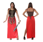 Dames Gladiator kostuum