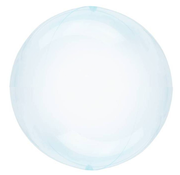 CRYSTAL CLEARZ  ballon blauw
