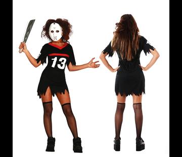Dames Friday the 13th kostuum