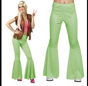 Disco broek groen